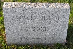 Barbara <i>Butler</i> Atwood