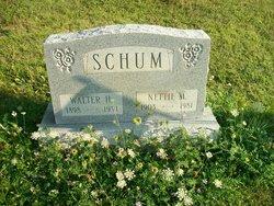 Nettie M <i>Beatty</i> Schum