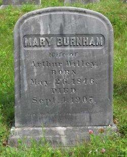 Mary <i>Burnham</i> Willey