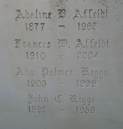 Adaline B Affeldt