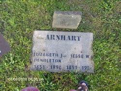 Elizabeth J <i>Pendleton</i> Arnhart