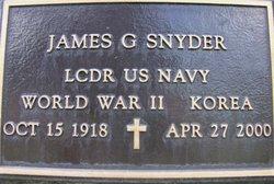LCDR James G. Snyder