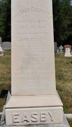 Rozina M <i>Lowry</i> Easby