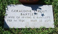 Geraldine <i>Strout</i> Bartlett