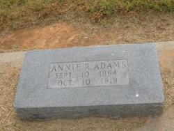 Annie R. Adams
