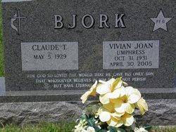 Vivian Joan <i>Umphress</i> Bjork