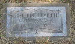 Josephine <i>Jahr</i> Hemphill