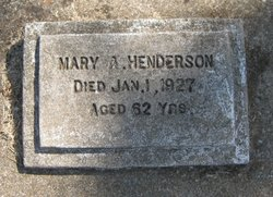 Mary A Henderson