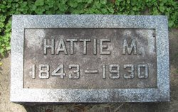 Harriet Hattie <i>May</i> Hawver