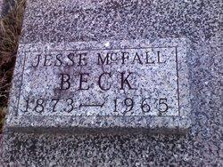 Jesse McFall Beck