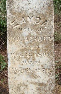 Zayda <i>McFarland</i> Achord