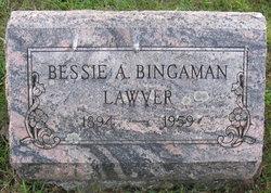 Bessie A <i>Bingaman</i> Lawver