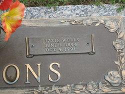 Lizzie <i>Wells</i> Simmons