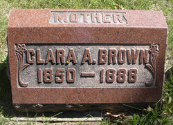 Clara A. <i>Buzzell</i> Brown