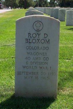 Roy Dryden Bloxom