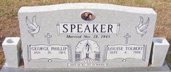 George Phillip Speaker