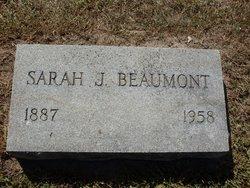 Sarah Jane <i>Hulett</i> Beaumont