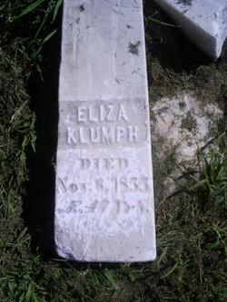 Eliza Mary <i>Eby</i> Klumph