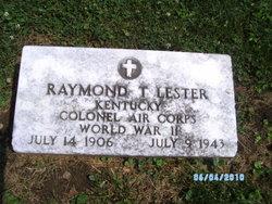 Col Raymond T Lester
