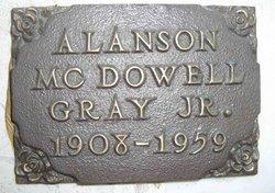 Alanson McDowell Gray, Jr