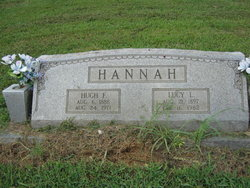 Lucy Lee <i>Helms</i> Hannah