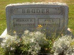 Ada L <i>White</i> Bauder
