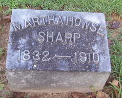Martha <i>Howse</i> Sharp