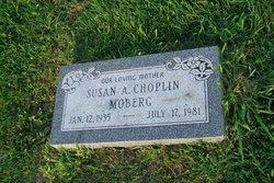 Susan A <i>Choplin</i> Moberg