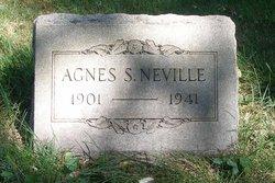 Agnes S <i>Schemmel</i> Neville