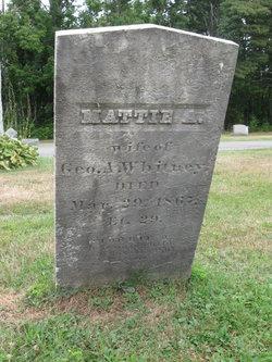 Martha Ann Mattie <i>Colburn</i> Whitney