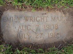 Eunice Emily Emily <i>Wright</i> Marsh