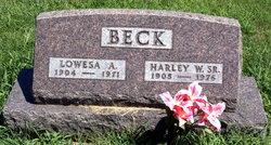 Harley Wilford Beck, Sr