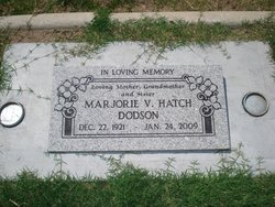 Marjorie V. <i>Hatch</i> Dodson