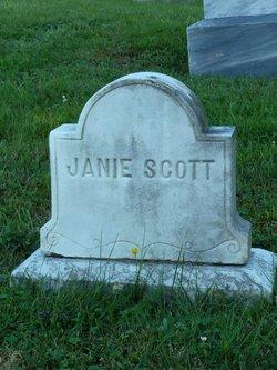 Jane Evalina Janie Scott