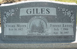 Forest Leroy Giles