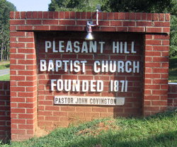 Pleasant Hill Baptist Cemetery