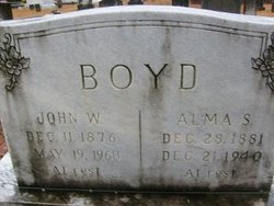 Alma Sarah <i>Woods</i> Boyd