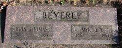 Myrtle Emma <i>Sturgis</i> Beyerle