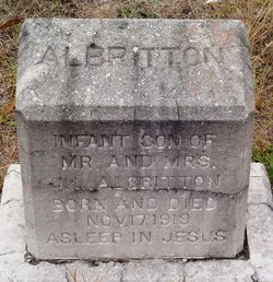 Infant [Son] Albritton