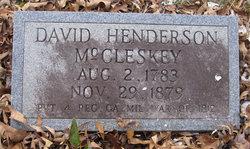 David Henderson McCleskey