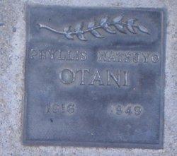 Natsuyo Phyllis Otani