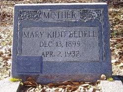 Mary Ada <i>Kidd</i> Bedell