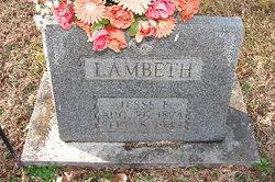 Jesse Franklin Lambeth