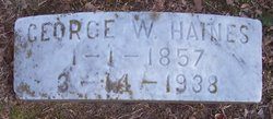 George W Haines
