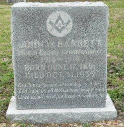 John W Barrett