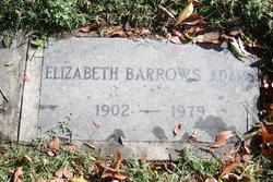 Elizabeth <i>Barrows</i> Adams