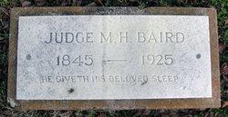 M. H. Judge Baird