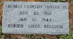 Lieut Thomas Clinton Butler, Jr
