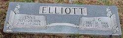 Jennie Lou <i>Thurmond</i> Elliott
