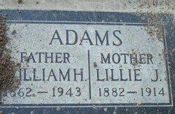 Lillie J Adams